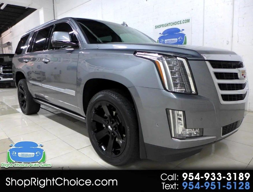 2019 CADILLAC ESCALADE PREMIUM LUXURY FOR SALE: $91,250 STICKER * 1-OWNER * CLEAN CARFAX * GARAGE-KEPT FLORIDA CAR * 10 SERVICE RECORDS * FACTORY WARRANTY * LIKE NEW INSIDE AND OUT * 22