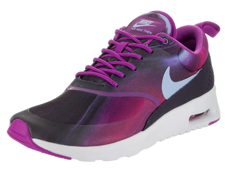 huge discount a7534 9ff51 Nike 599408-503  Air Max Thea Print Women Sneakers Violet