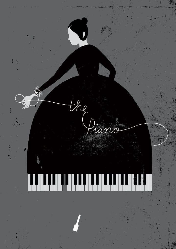 The Piano Poster Design By Karolin Schnoor