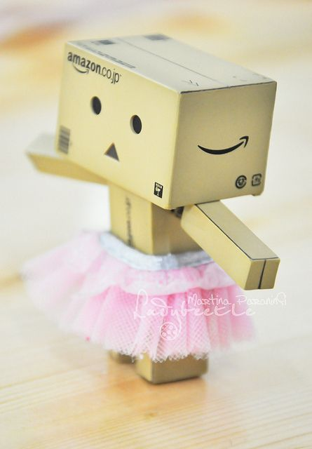 Danbo pretty in pink