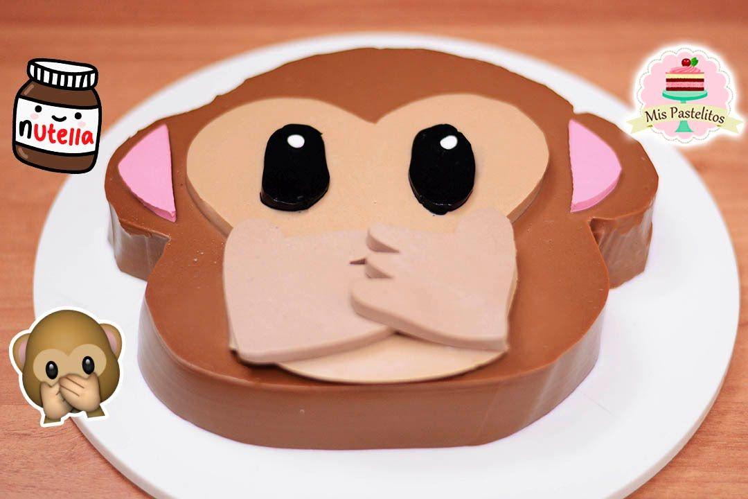 Gelatina De Nutella Del Emoji De Changuito Mis Pastelitos