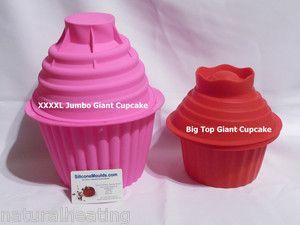 Lilac Massive Xxxxl Jumbo Giant Cupcake Mold Silicone Bakeware Cake Mould Pan Ebay Giant Cupcake Mould Cake Baking Tins Giant Cupcakes