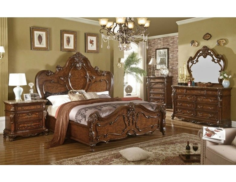 Venetian Traditional Style Bedroom Furniture With Images