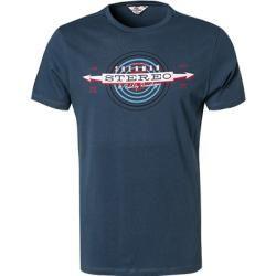 Ben Sherman Herren T-Shirt, Baumwolle, mittelblau Ben Sherman