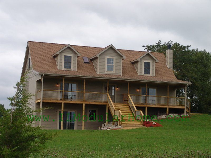 Modular Home Cape Cod Style With Dormers Modular Home