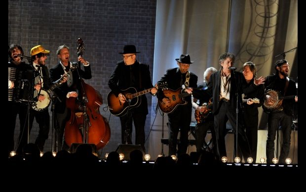 The Avett Brothers, Mumford, Dylan (2011 Grammys)