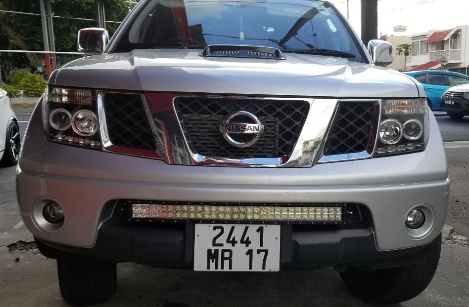 Sonar Headlight And Led Bar Fitted On Nissan Navara Nissan Navara Nissan Pathfinder Nissan