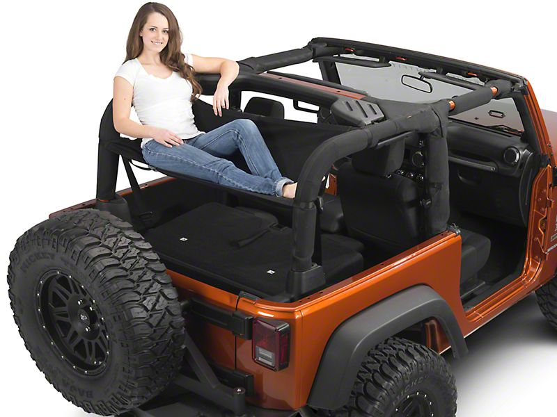 Redrock 4x4 Cargo Wrap Around Net One Piece 92 06 Jeep Wrangler