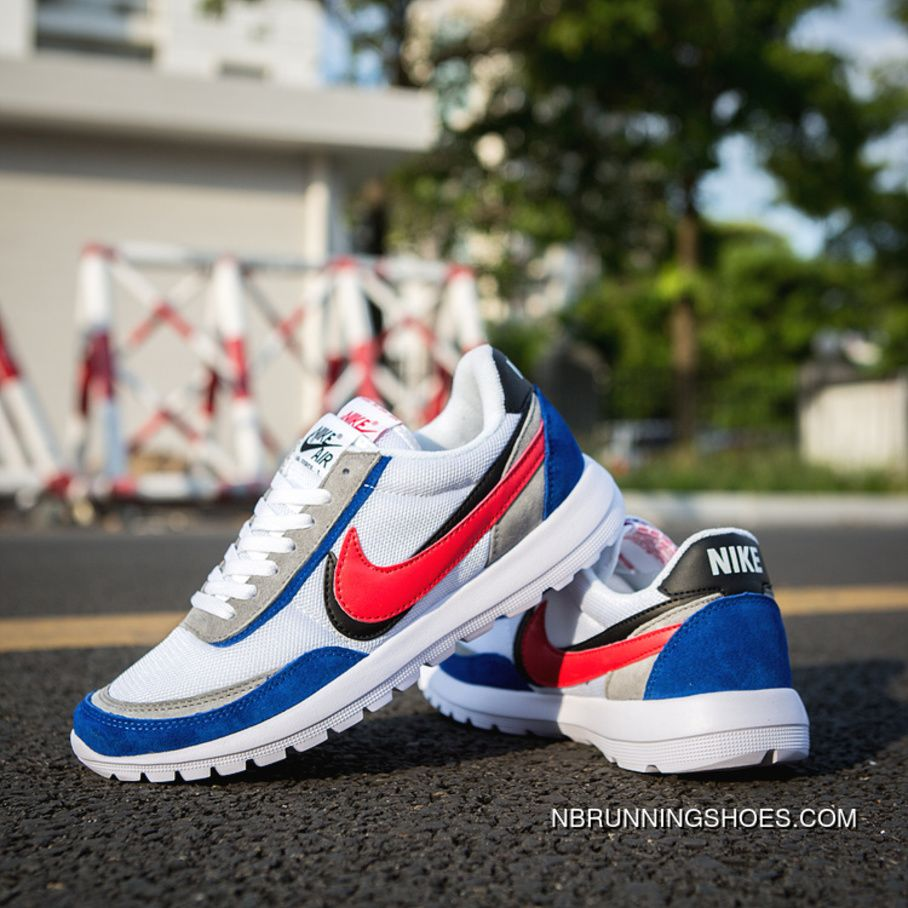 7358e9403e 2018 Nike International Mens Sports Shoes Running New Style Sneakers Blue  Red Black Copuon