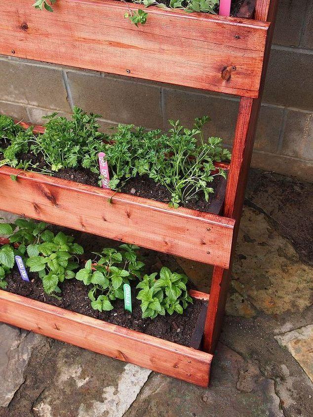 Wie Kann Man Vertikalen Kräutergarten Selber Anfertigen | Garten