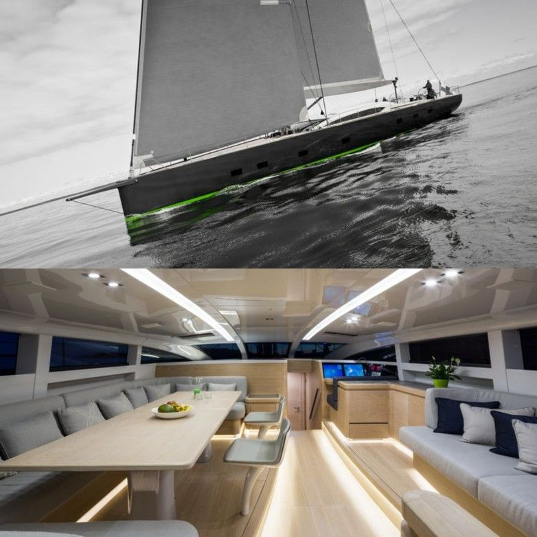 Sailing Yacht WinWin By Baltic Yachts With Interior Design By Design  Unlimited And Exterior Design/ Nice Look