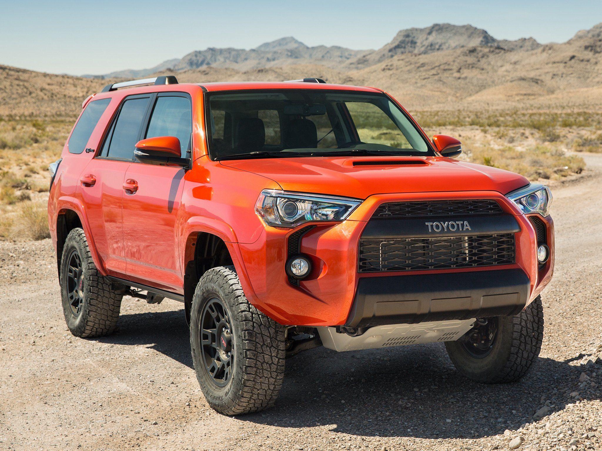 2015 Toyota 4runner Orange Image New Cars Review 2015