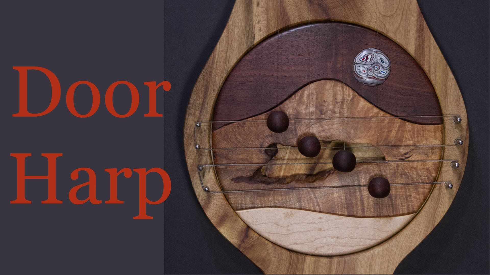 Door Harp Woodworking Projects Diy Diy Door Harp