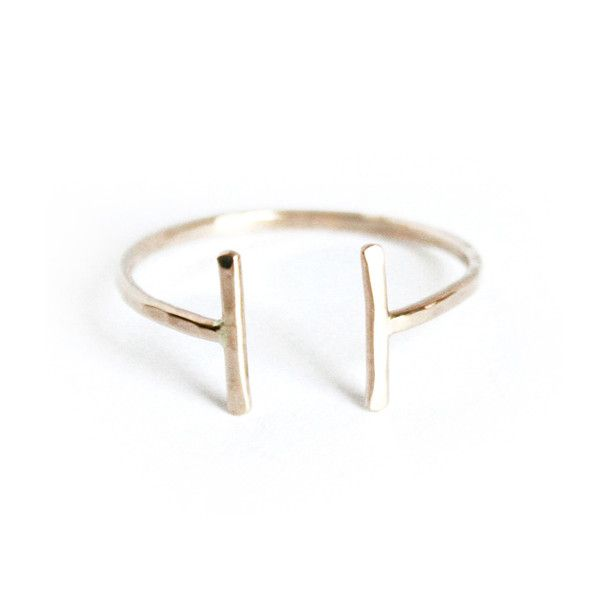 Charming Open Ring Gold Fill