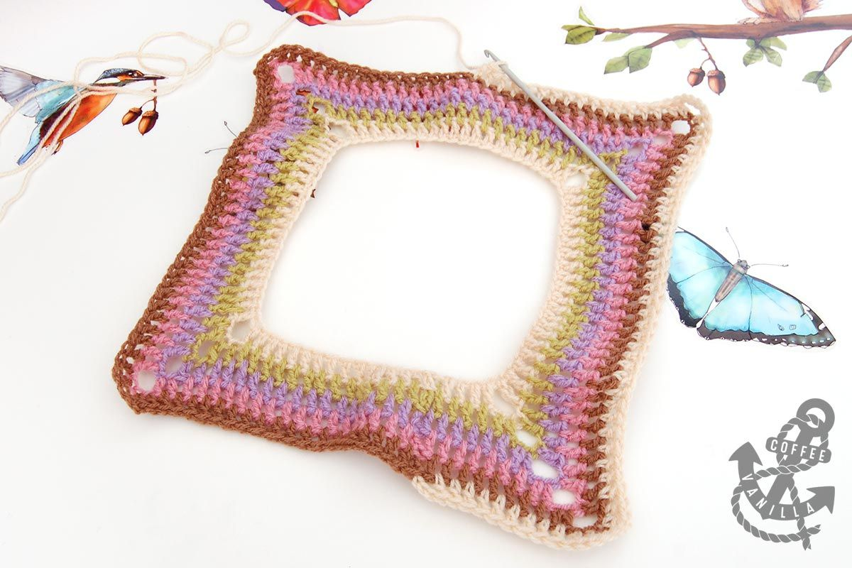 Extremely Easy Kids\' Crochet Poncho with Tear Drop Corner Pattern ...