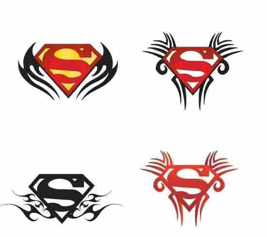 Superman Tattoo Chest Lizard Tattoo Superman Tattoos Super Hero Tattoos Hero Tattoo