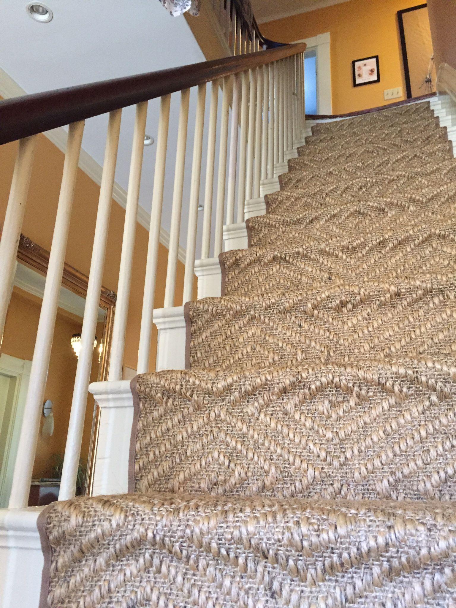 Hollywood Stair Runner Vs Waterfall The Carpet Workroom
