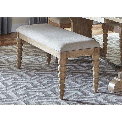 Beachcrest Home Haines City Upholstered Kitchen Bench