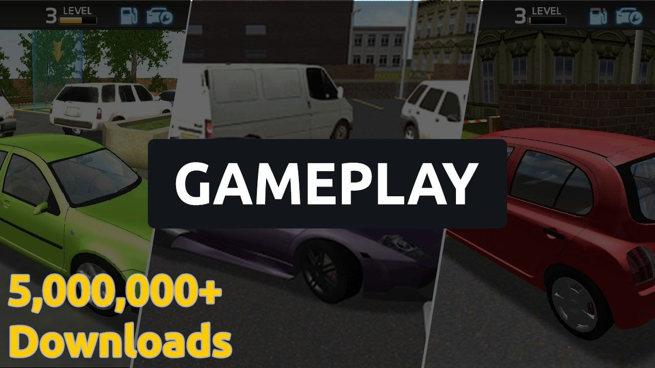 Pin By Zegaming On Android Car Parking 3d Gameplay Challenges Car Parking