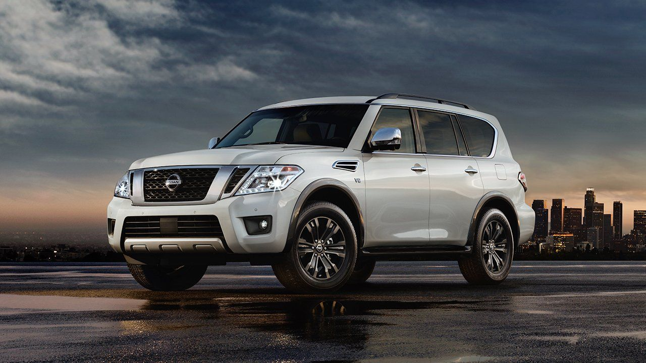 2017 nissan armada full size suv in white scheduled via http