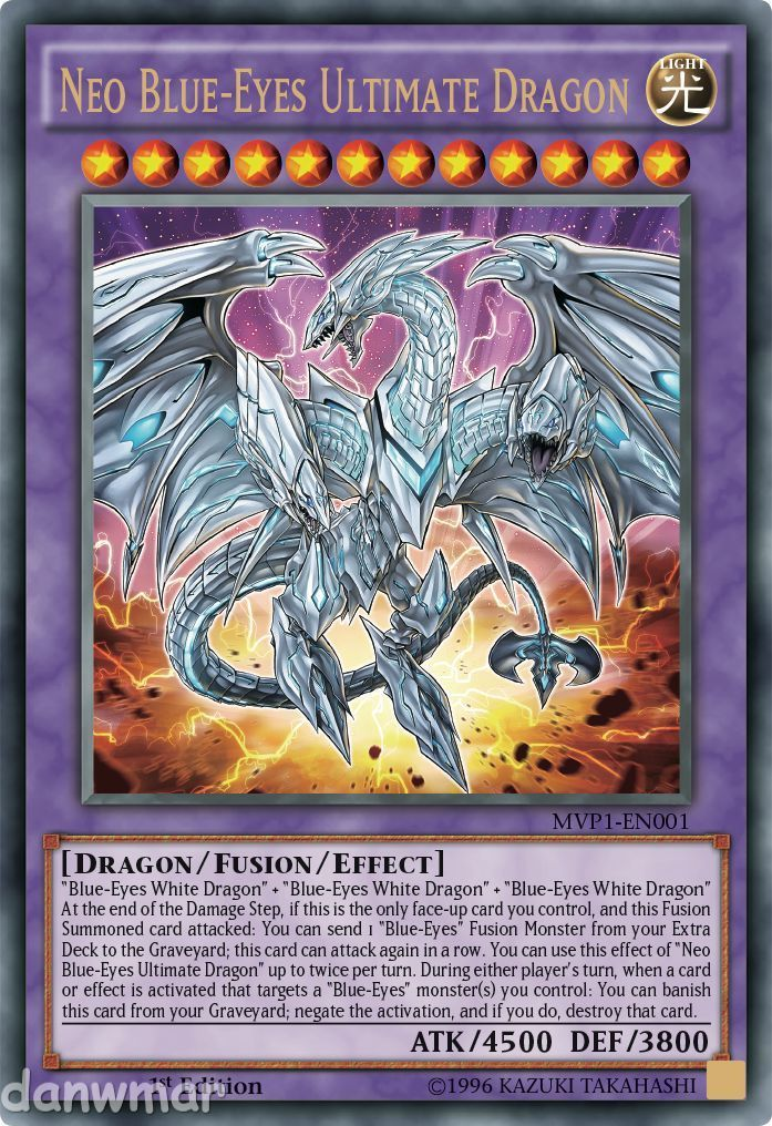 7 95 Gbp Neo Blue Eyes White Ultimate Dragon Yugioh Ultra Rare Mvp1 En001 Mint Card Ebay Collecti Yugioh Dragon Cards Ultimate Dragon Yugioh Dragons