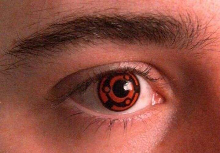 Red N Black Eye Contact Naruto Red Contacts Sharingan Eye Contacts Eye Contact Lenses