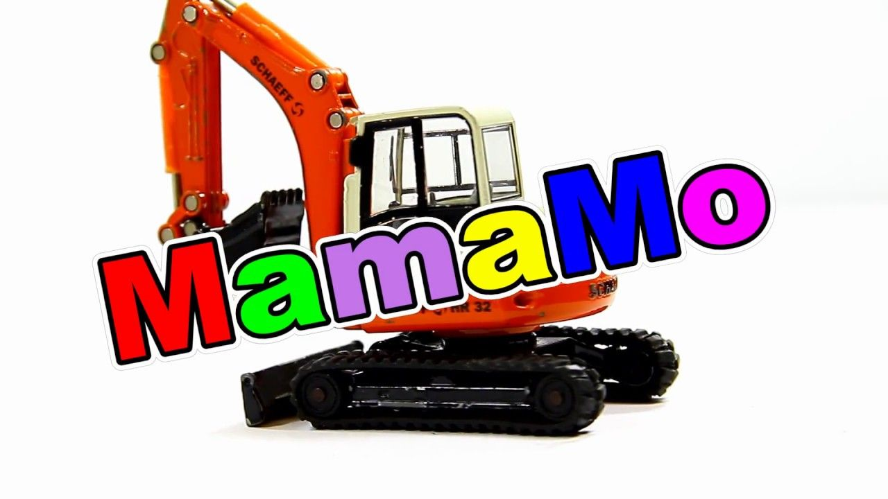Toys car for child  Excavator Schaeff HR  Toys for Children  MamaMo  Pinterest  Toy