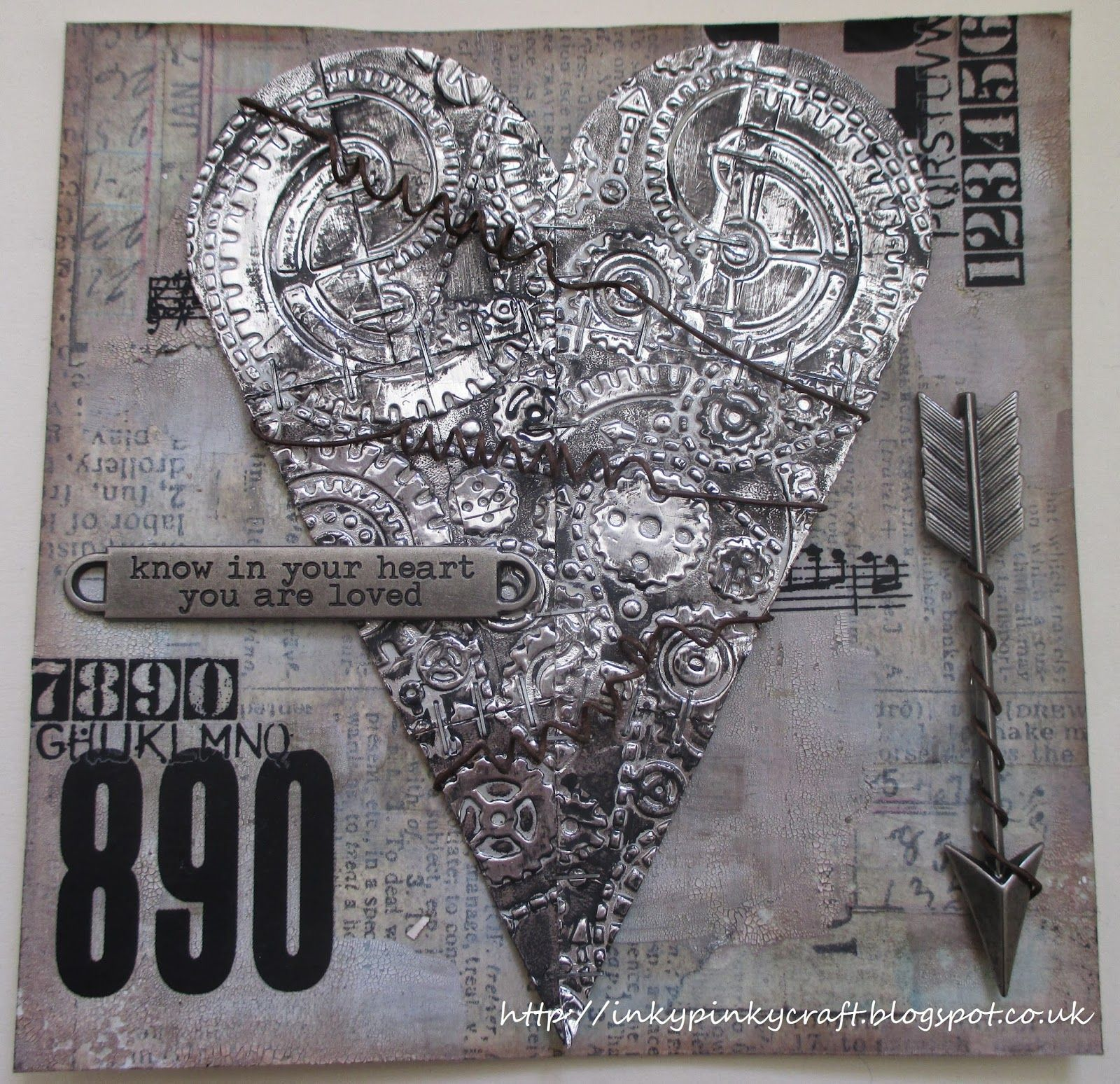 Petal To The Metal Crafts Metal Tape Art Altered Art
