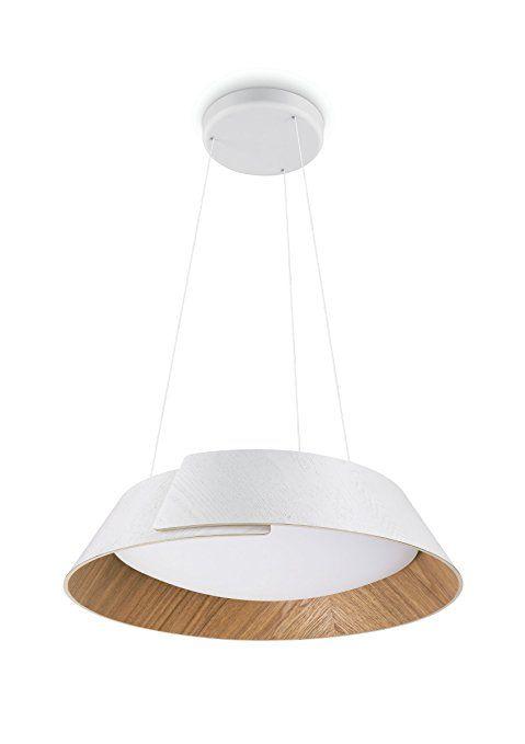 Philips Instyle Led Pendelleuchte Nonagon Weiss Holz Lamparas De Techo Iluminacion Techo