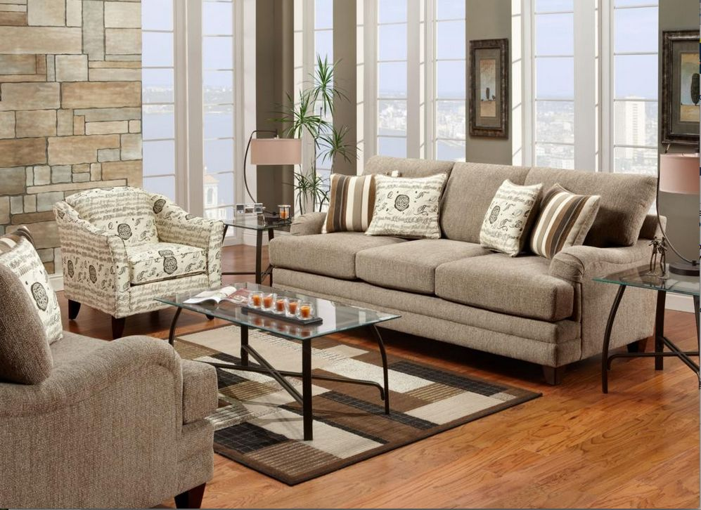 Furniture Furnishing Awesome And Stunning Living Room With Transitional Style Uses Wooden Flooring Tile