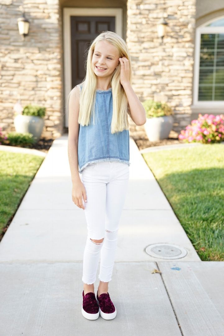 Our First Day of School 2017 2018         KIDS FASHION     Our First Day of School 2017 2018         KIDS FASHION         Pinterest    Tween fashion  School outfits and White jeans