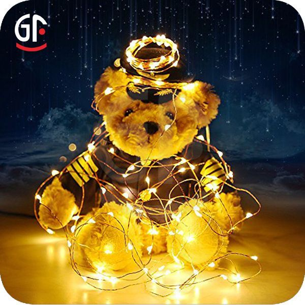 Wholesale Xmas Decoration Fairy Lights Warm White 3aa Battery