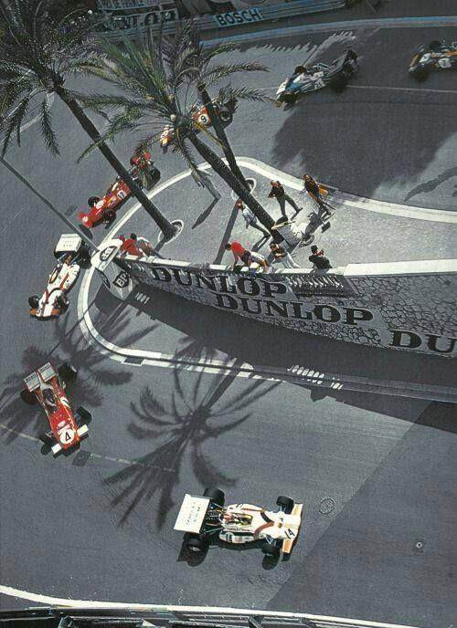 Grand Prix de Monaco 1971 source F1 History & Legends
