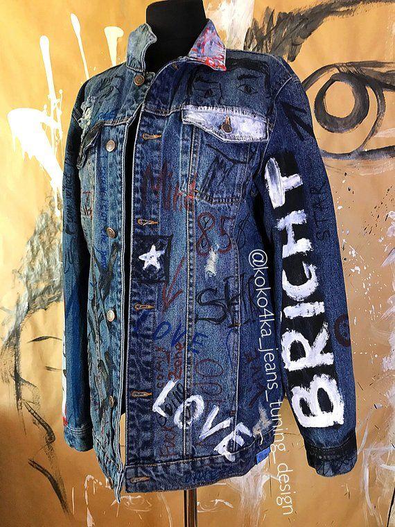 545c7a40b graffiti jacket - jacket coat - men's jacket - graffiti - gucci - lettering  jacket - clothing men -