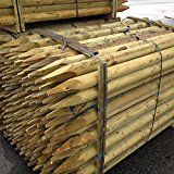 Rounded Wooden Stake 1.2m x 50mm 15 pack