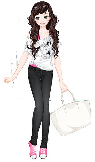 سكرابز روعة سكرابز بنات كيوت روعة جدا سكرابز بنات كيوت من تجميعي أكيد هيعجبكم ج1 Cute Kawaii Girl Kawaii Girl Anime Drawings Tutorials