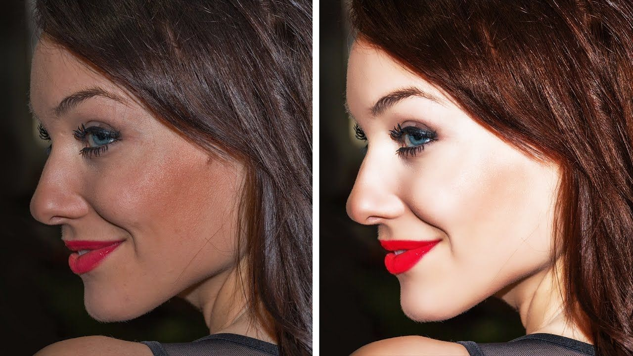 Photoshop tutorial easy way to retouching skin in photoshop photoshop tutorial easy way to retouching skin in photoshop baditri Image collections