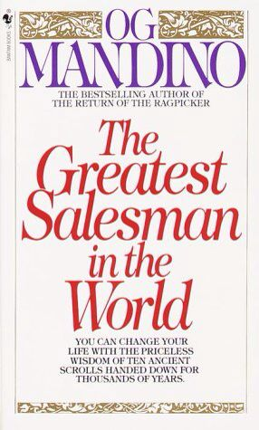 The Greatest Salesman In The World. -Matthew McConaughey said this book changed his life at a Sag Foundation event last night so I'm adding it to my que,