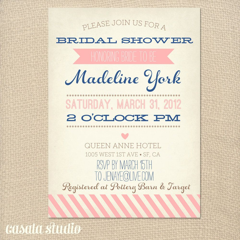 free wedding shower invitation templates