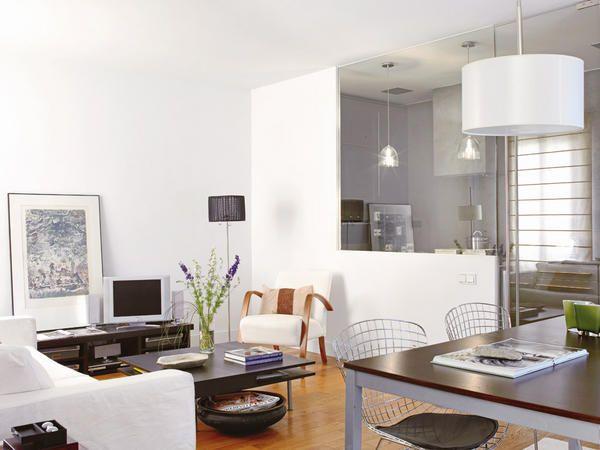 Salones con cocina integrada living rooms open kitchens for Decoracion salon comedor