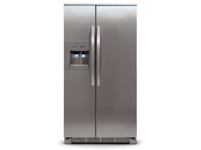 Ge Cafe Series Energy Star 22 2 Cu Ft Counter Depth French Door Refrigerator With Hot Water Dispenser Cye22tshss Counter Depth French Door Refrigerator French Door Refrigerator French Door Refrigerator Reviews