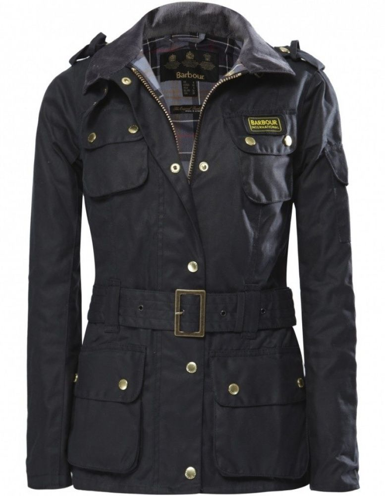 Women s Barbour International Waxed Jacket  15d6f187a1fa