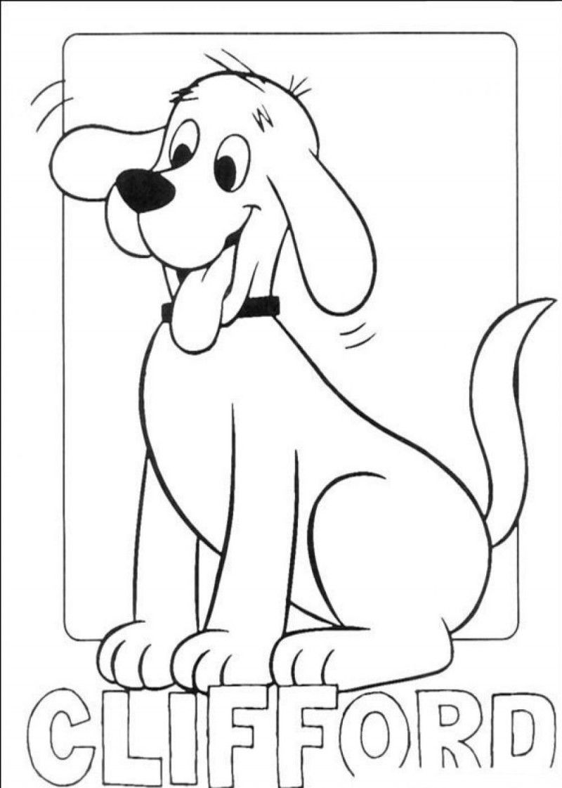 - Clifford Coloring Page. Dog Coloring Page, Halloween Coloring