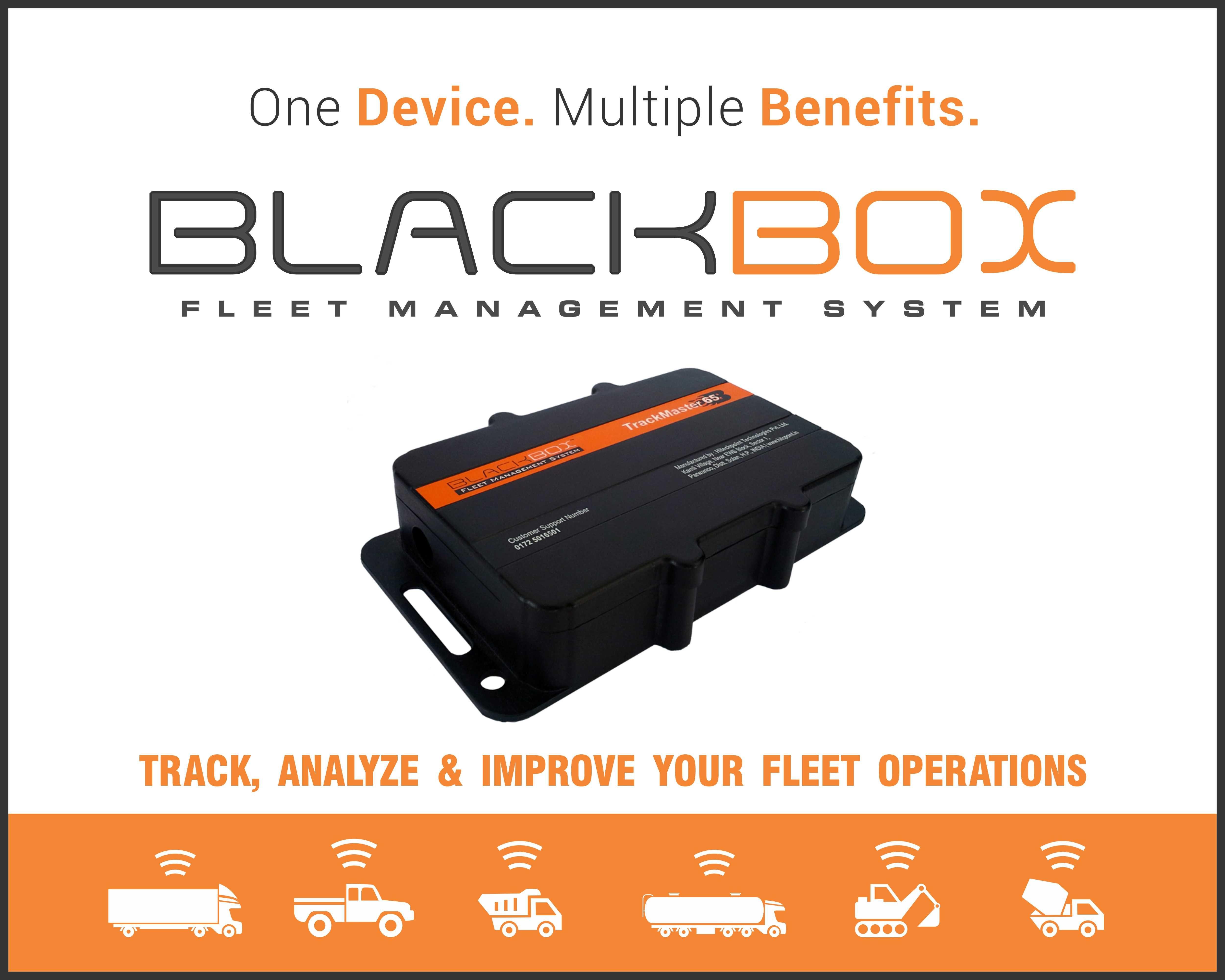 Blackboxgps vehicle tracking device for your fleet business
