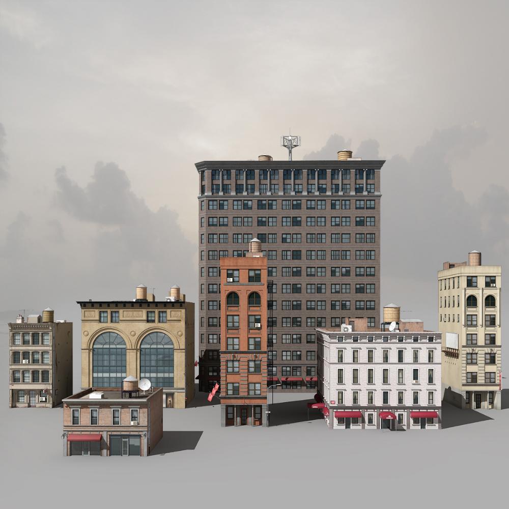 3d Buildings 3d Building 3d Building Models Building