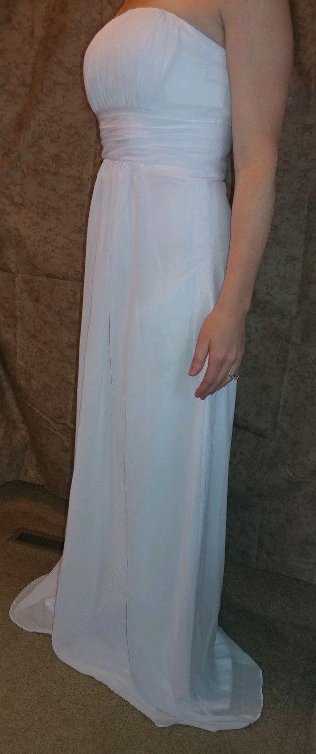 brand new strapless wedding dress size brand