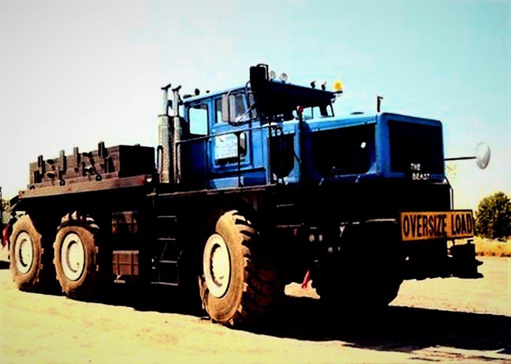 Hendrickson 360 Heavy Haul Prime Mover Big Rig Trucks Big Trucks Huge Truck
