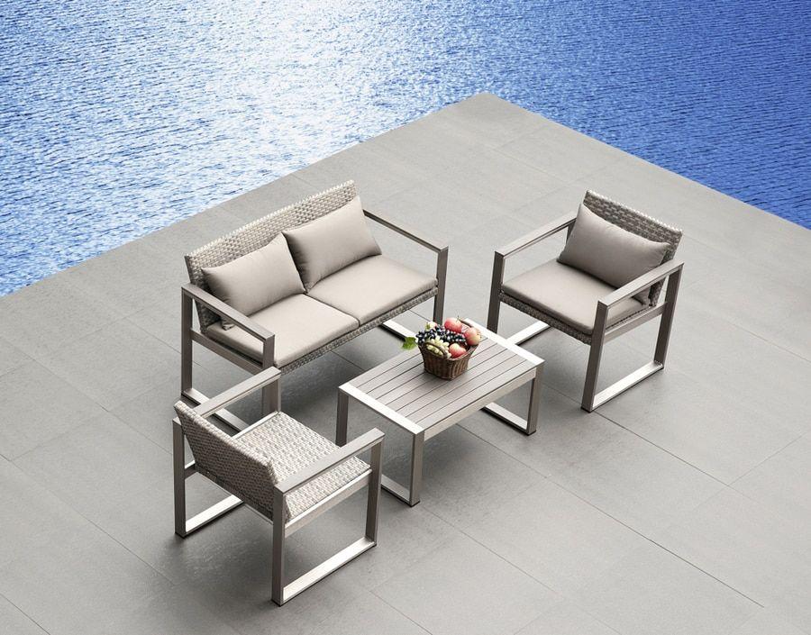 Photo of Medici 4-Piece Sofa Set
