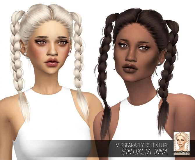 Sintiklia Inna: Solids at Miss Paraply via Sims 4 Updates  Check more at http://sims4updates.net/hairstyles/sintiklia-inna-solids-at-miss-paraply/