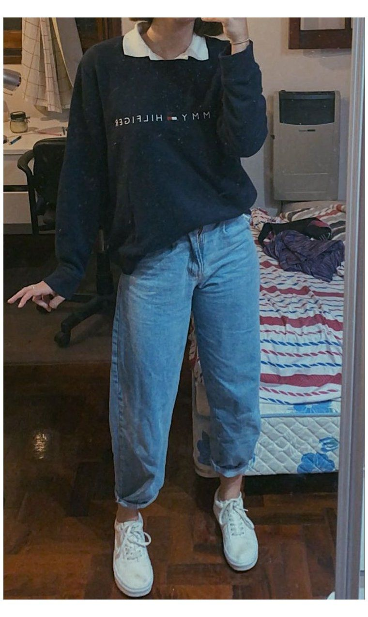 baggy trousers outfit summer